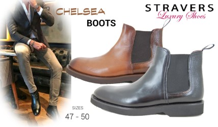 Mens Boots in large sizes | Stravers | large men's shoes