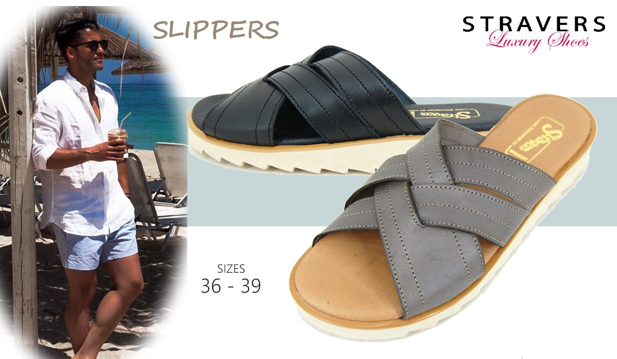 Slippers in small sizes | Stravers | small men's shoes