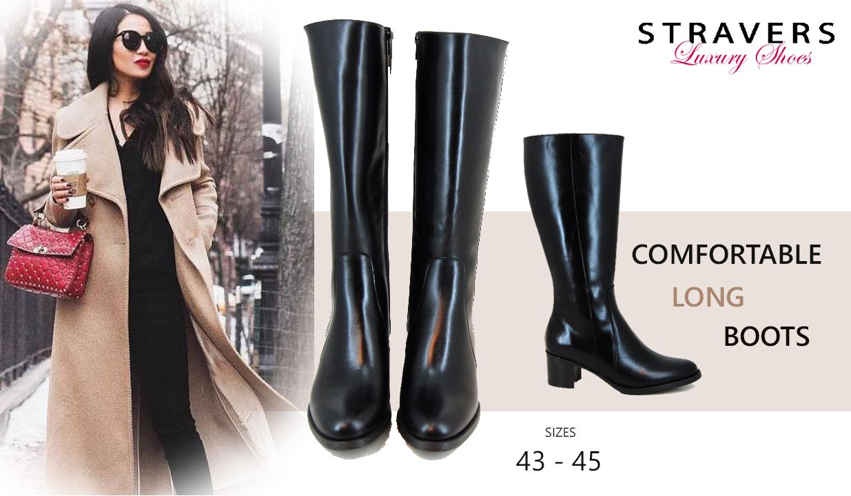 Boots in large sizes | Stravers | large women's shoes