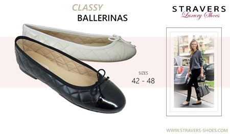 Flat Shoes in large sizes | Stravers | large women's shoes
