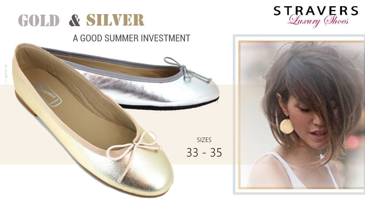 Flat Shoes in small sizes | Stravers | small women's shoes