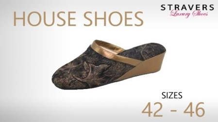 House Shoes in large sizes | Stravers | large women's shoes
