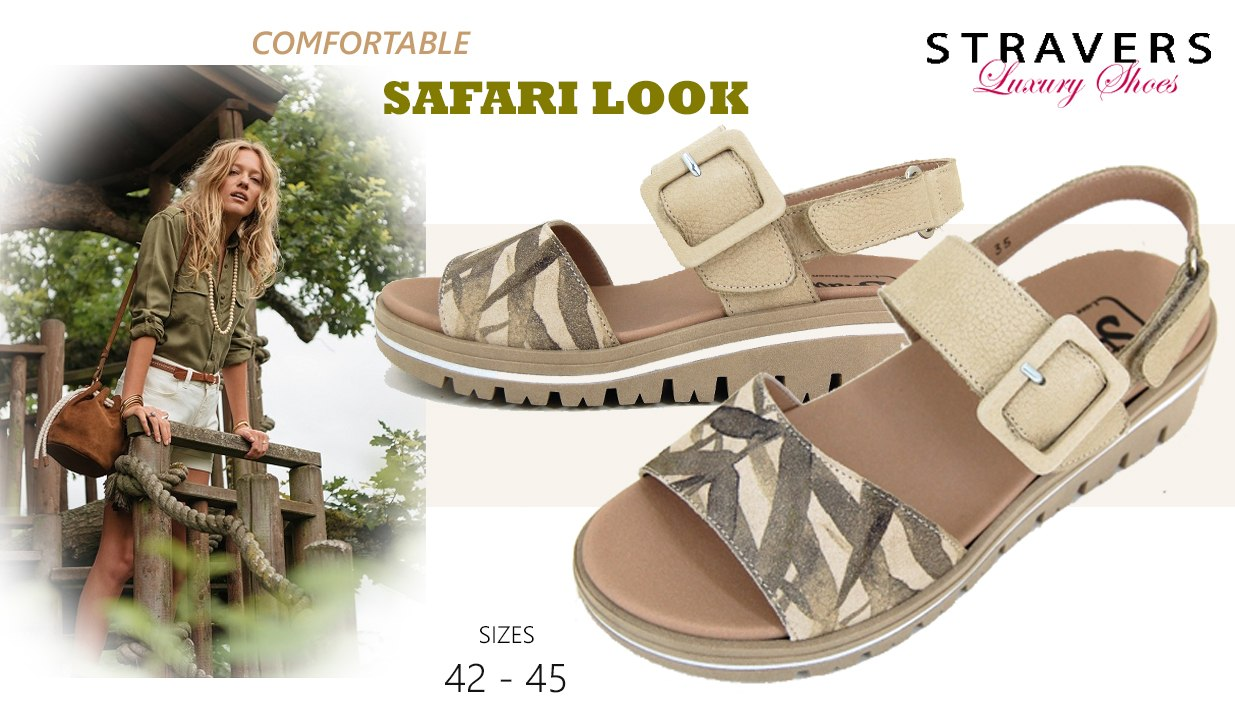 Wedges in large sizes | Stravers | large women's shoes