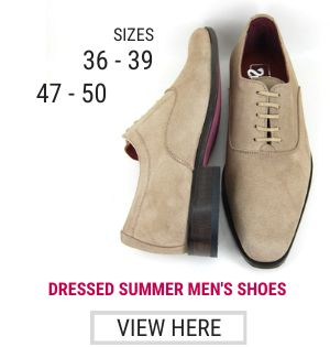 Derby lace up shoes -- small shoes men