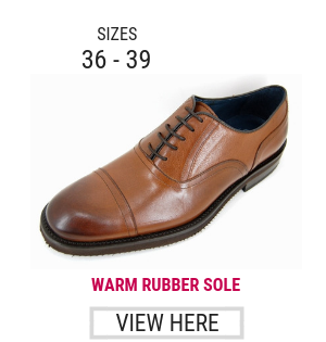 Small sized casual shoes for men