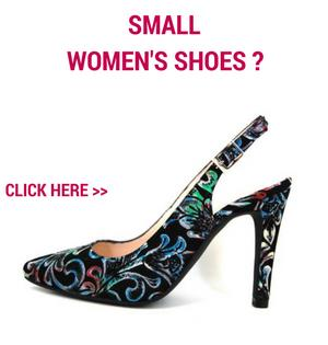 Small shoes for women