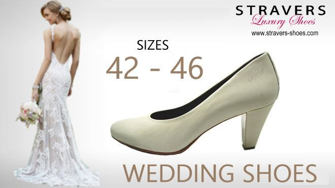 Large Size Women's Shoes | Stravers Luxury Shoes