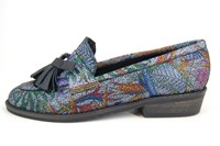 Tassel loafers - multi-colored