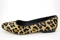 Animal print ballerina's in large sizes