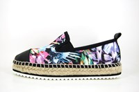 Stravers espadrilles - floral design in large sizes