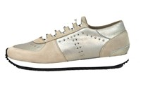 Fashion Sneakers Womens - beige in large sizes