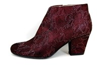 Bordeaux Short Boots in small sizes