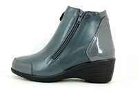 Comfortable ankle boots - grey in small sizes