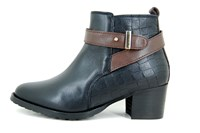 Black western boots in large sizes