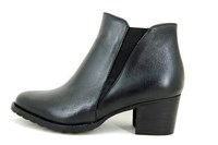 Black ankle boots in large sizes