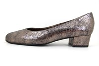 Metallic pumps low heels in small sizes