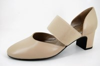 Comfortable half open shoes in small sizes