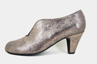 Casual Chic pumps - metallic bronce in large sizes