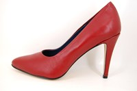 Red pumps with High Heels in small sizes