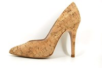 Cork court shoes in large sizes
