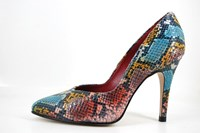 Multicolor needle heels in small sizes