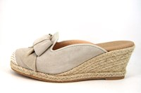 Wedge Espadrilles mules - beige in small sizes