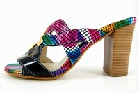 Exclusive slippers - multicolor in small sizes