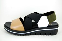 Nice Comfortable Sandals - white black beige olive green in small sizes