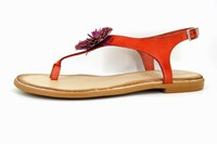 Flip flop sandals - coral in small sizes
