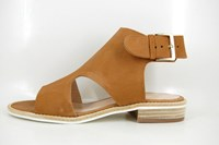 Boho-chic sandals in small sizes