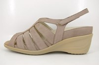 Comfortable wedge sandals in small sizes