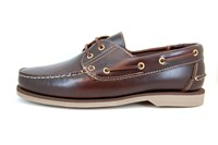 Stravers Dutch Boat Shoes - brown in small sizes