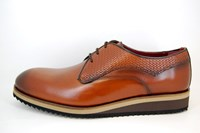 Lightweight Casual Dress Shoes - brown in large sizes