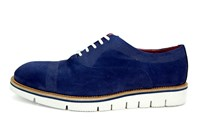 Semi casual shoes - blue in small sizes