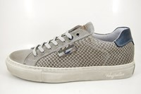 Stone animal print mens sneakers in large sizes