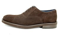 Brown suede light shoes in small sizes