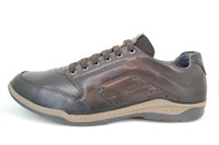 Comfortable Sneakers Men - brown in large sizes