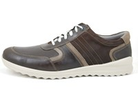Mens summer sneakers - cappucino in large sizes