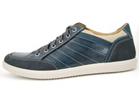 Blue mens sneakers in large sizes