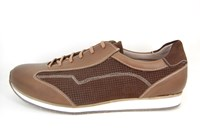 Mens sneakers - brown in large sizes