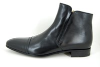 Mens short boots zipper in small sizes
