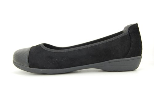 No Leather Shoes ballerina - black