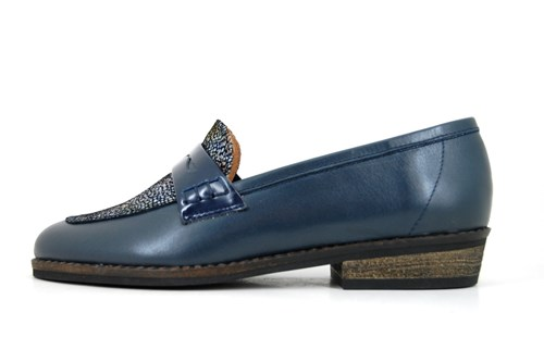 Blue Penny Loafers