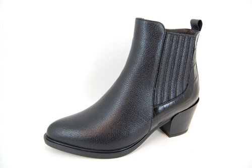 Comfortable Cowboy boots Low - black