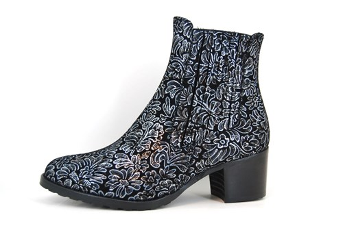 Chelsea boots - black silver