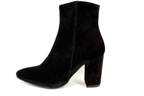 60s ankle boots - black