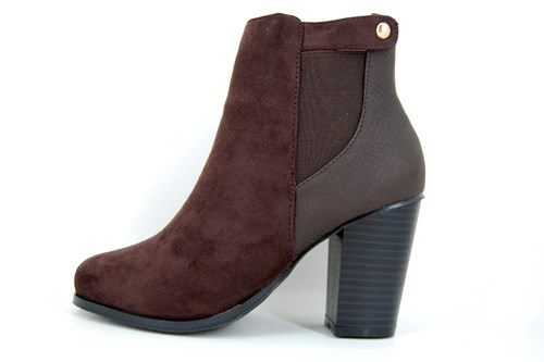 Cheaper ankle boots - brown