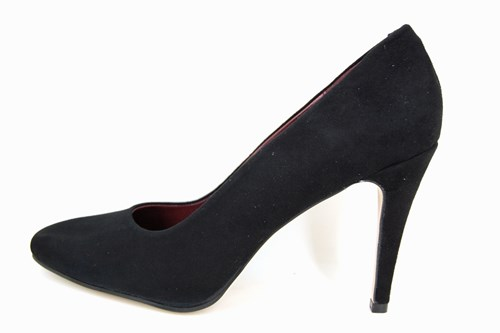 Stiletto pumps - black suede