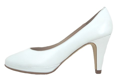 White heels - wedding shoes