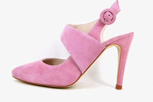 Exclusive slingback heels - Rose Quartz